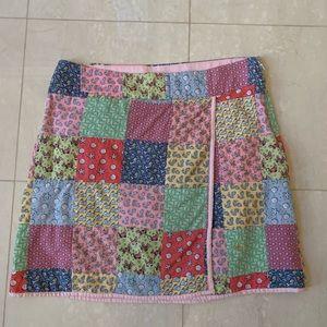 Vineyard Vines classic wrap miniskirt